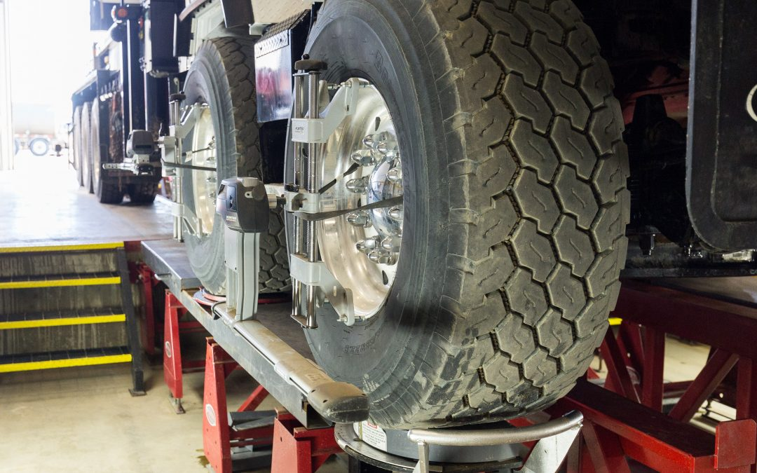 Why It's Important to Maintain Your Truck's Suspension & Alignment